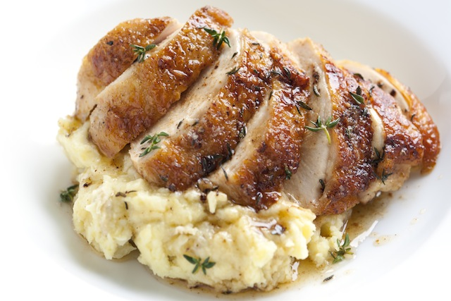 Pan-Roasted Chicken with Thyme