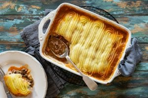cottage pie, beef mince recipe, batch cooking, i love cooking ireland recipes
