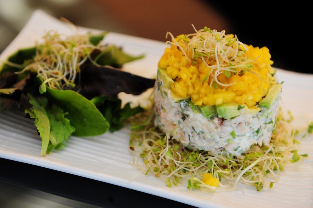 Crab Tian with Avocado & Mango