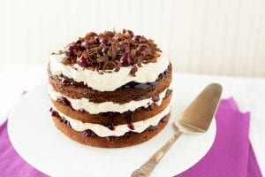 Black Forest Gateaux cake