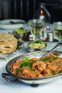 North Indian Prawn Curry; Catherine Fulvio recipe; i love cooking; weekend chef book