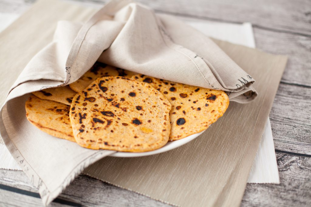 Smoked Paprika Flatbreads; flatbread recipe
