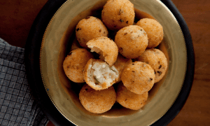 Arancini Risotto Balls with Wild Mushrooms Andrew Rudd I Love Cooking