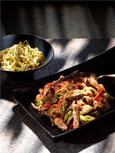 Lamb-Stir-fry-with-Leeks-and-Peppers