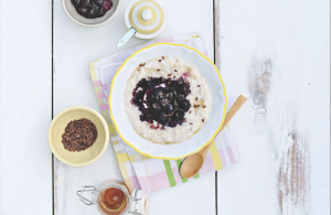 Neven Maguire Porridge with Blueberries from the complete baby and toddler cookbook