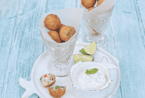 Fishy footballs from Neven Maguire's Complete Baby and toddler cookbook