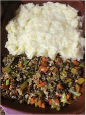 veggie shepherds pie recipe, i love cooking, i love cooking ireland, recipe website