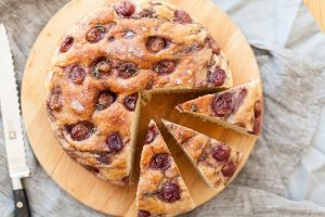 Chef Recipe Series, Catherine Fulvio, Red Wine and Grape Focaccia, how to make bread, I Love Cooking Ireland