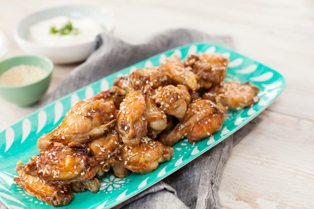 Peachy Palate's Baked Honey & Soy Chicken Wings, recipe video, I love cooking recipe videos