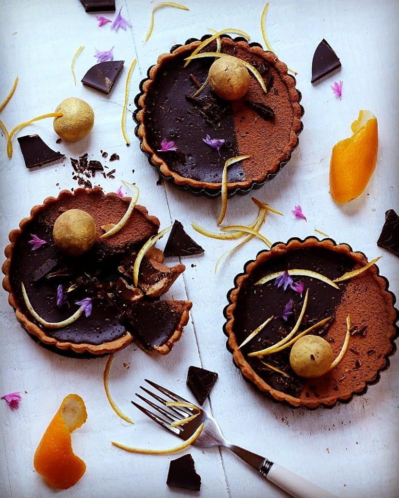Chocolate orange tartlets, chocolate recipes, I love cooking, Shane Smith recipes