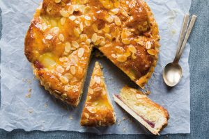Pear and Almond Tart, Brian McDermott Donegal Table, Tart, baking, I Love Cooking
