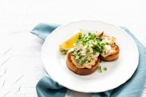 Niall Sabongi Crab on Toast, Klaw restaurant, island nation, Irish food, I Love COoking