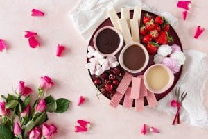 Valentine's Chocolate Fondue, chocolate recipes, I love Cooking ireland recipes, chocolate, valentines day recipes