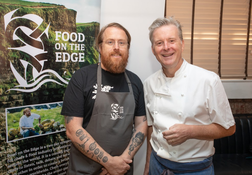 Food on the edge, JP McMahon, Ross Lewis, I Love Cooking Ireland
