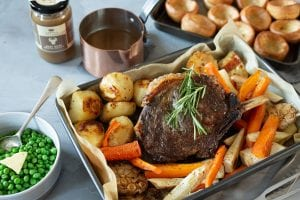Beef Rib Roast Recipe, Carol's Stock Market, I Love Cooking