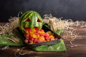 Carved Watermelon, Halloween ideas, kids halloween, i love cooking ireland