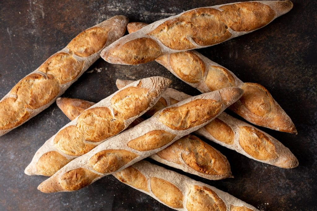 homemade baguette recipe, baguette, bread, baguette masterclass, patrick ryan, i love cooking bread