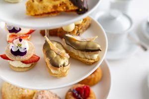 Afternoon Tea,Chocolate & Candied Orange Eclairs, Chocolate Eclair recipe, I Love Cooking Chef Recipe Series, Shane Smith, irish chefs
