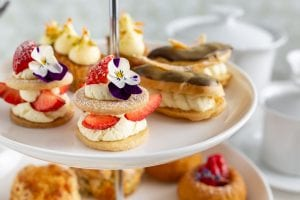 Strawberry Shortbread, Chef Shane Smith, Afternoon Tea